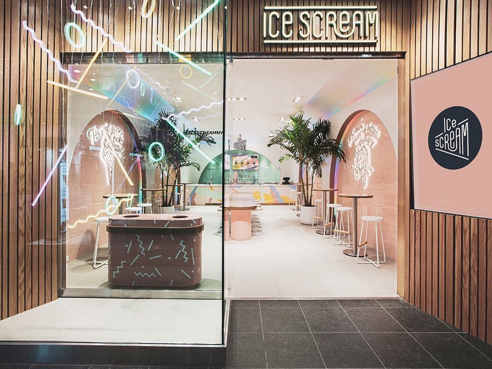 The Coolest Ice Cream Parlors In The World