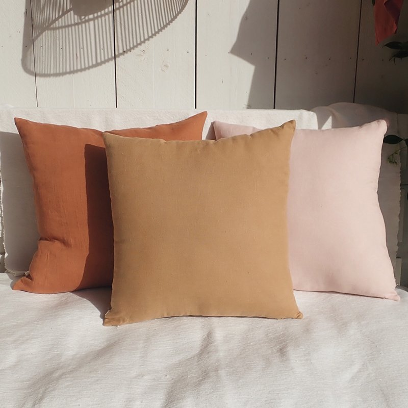 Washed Linen Cushion Anaelle